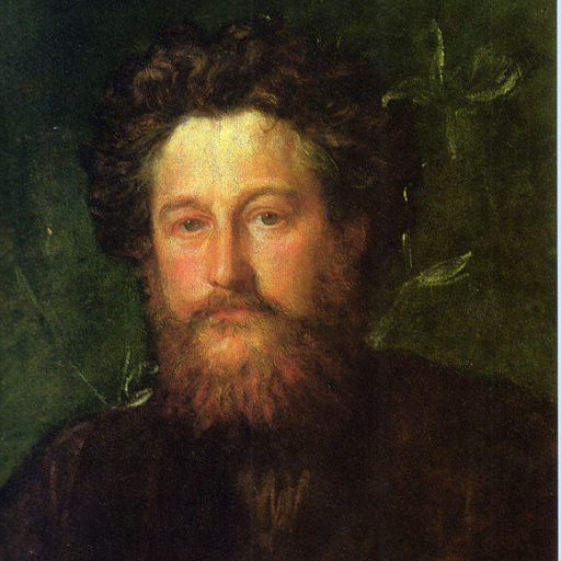 William Morris by G F Watts 1870